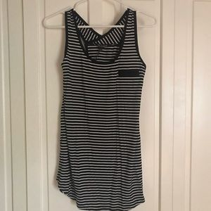 NEW Cable & Gauge Tunic Tank Striped Top Sz L